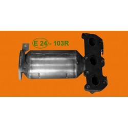 Katalizator VW/SEAT/SKODA FABIA/POLO/CORDOBA 1.2 EURO 3 kolektorowy