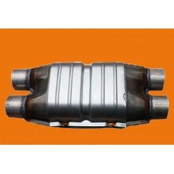Katalizator płaski dwa na dwa do pojemności 2500ccm  EURO 4