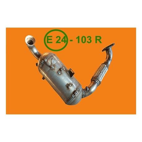 katalizator + Filtr DPF FAP Ford Focus 1.6 TDCi 01/2011-  -