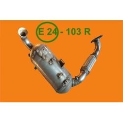 katalizator + Filtr DPF FAP Volvo V40 1.6 05/2012-